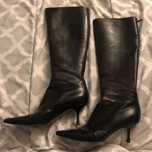 Authentic Jimmy Choo Leather Boots SZ. 38